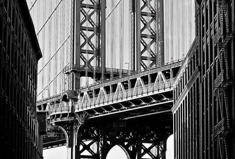 Manhattan Bridge by Martin Froyda