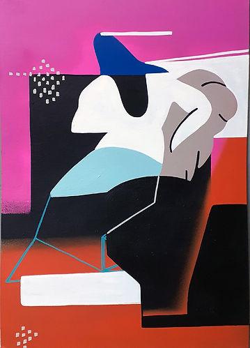MoonMambo - Seperation - Canvas 50 x 35
