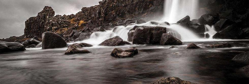Oxararfoss by Anton Eriksonn