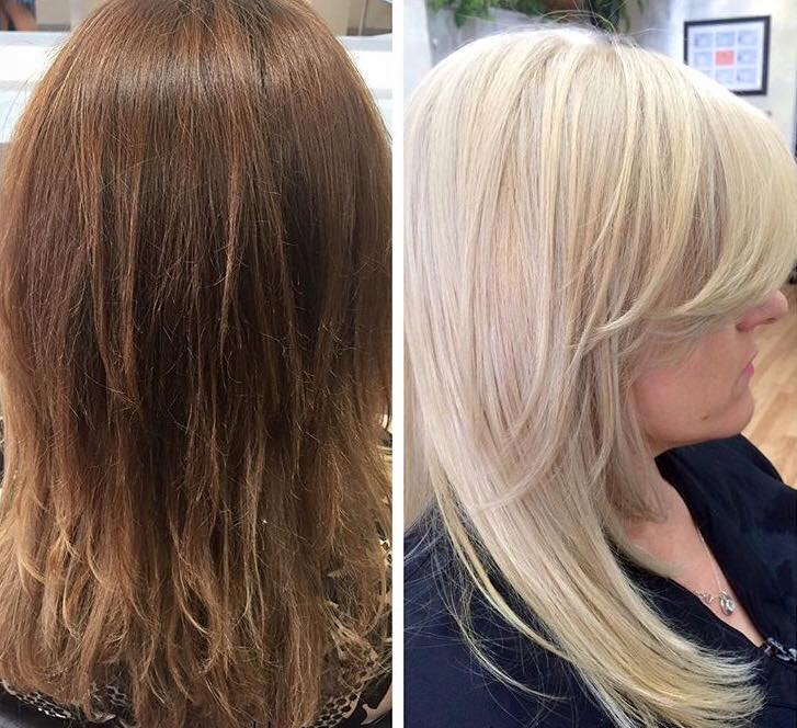 Color Correction, Platinum Blonde