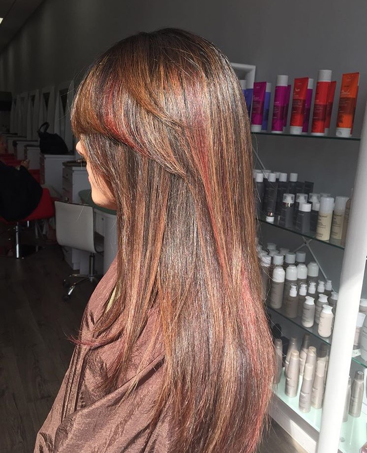Red & Honey Highlights