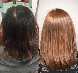 Natural Copper Hair color