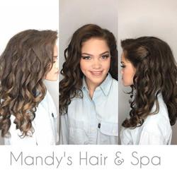 Curls & Makeup!