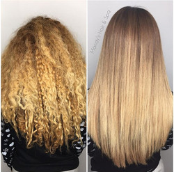 Before & After Blowout