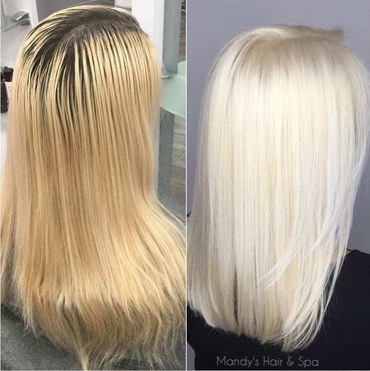 Beautiful Platinum Blonde