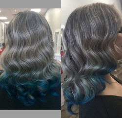 Baby Blue Ombre