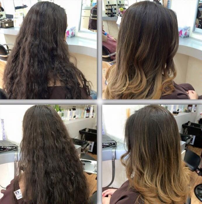 Ombre, Caramel Color & Style