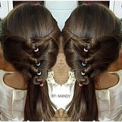 Fun Little girls Hairstyle