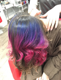 Pastel Ombre Hair!