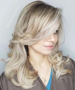 Beautiful Blonde, Healthy Hair