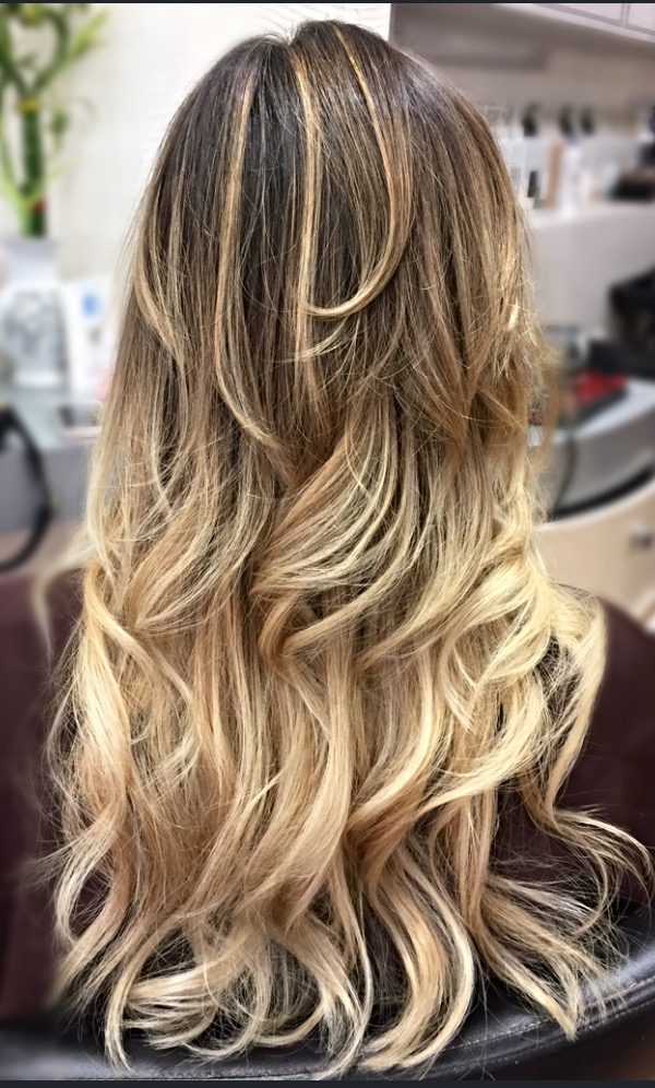 Balayage & Messy Waves