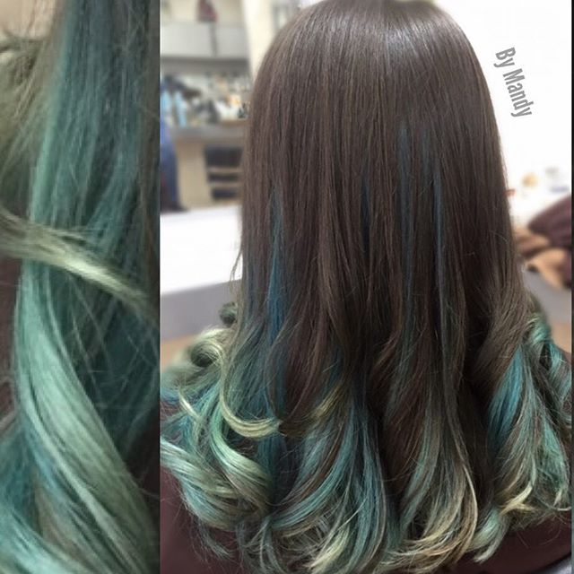 Color Melt Ombre