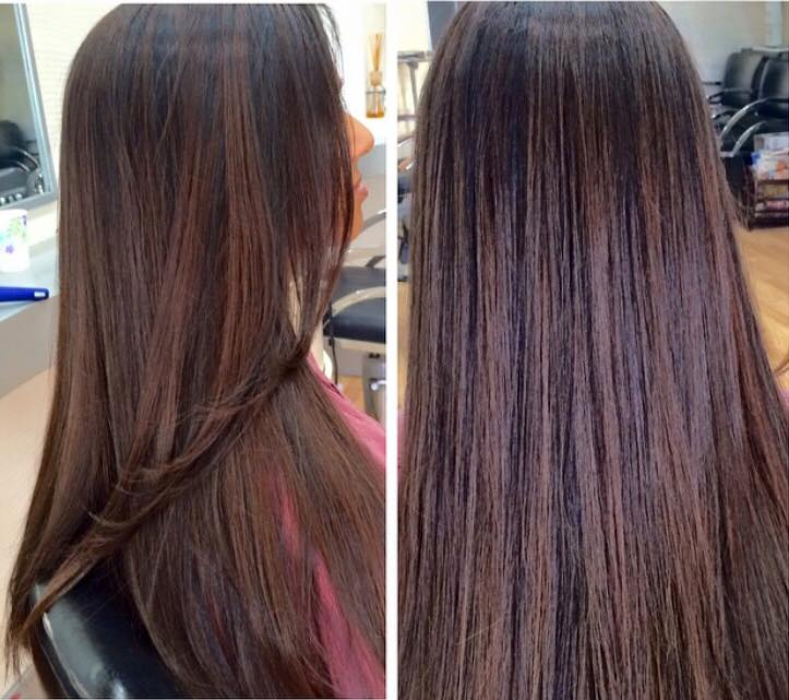 Warm Medium Brown Color & Style