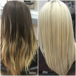 Color Correction, Platinum Blonde