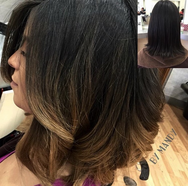 Ombre, Cut & Style