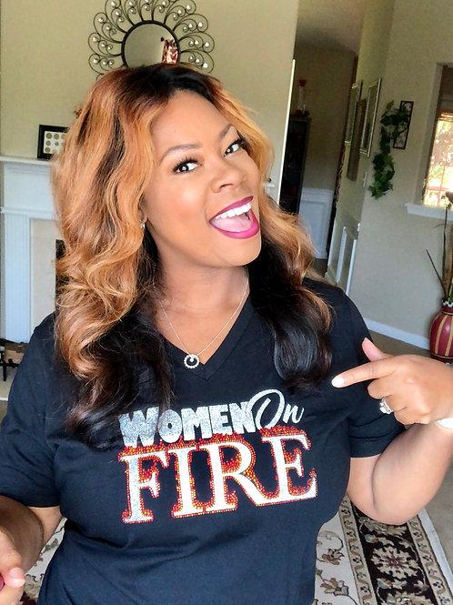 Women on Fire T-Shirt