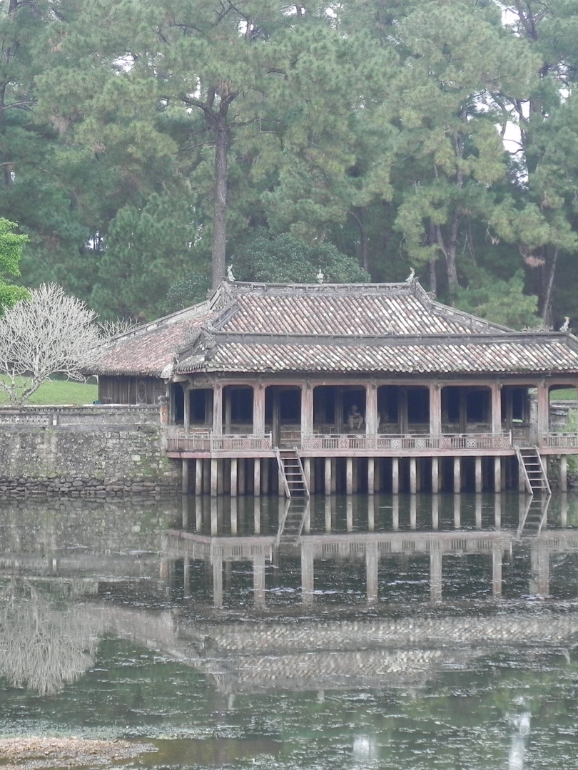 Vietnam Water Reflection