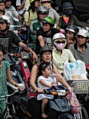Ho Chi Minh City, Vietnam - Traffic