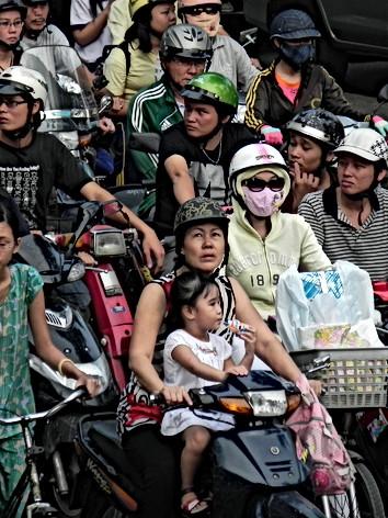 Ho Chi Minh City, Vietnam - Traffic