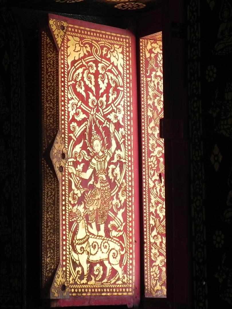 Vietnam Temple Window