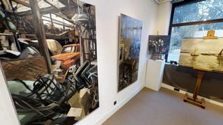 Immersion 3D vous propose la visite virtuelle de la Galerie En Ré pour l'exposition de Christoff