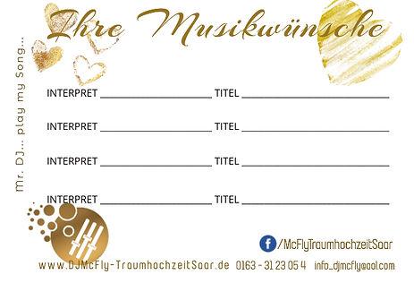 Urkunde 11x8.5  inMusikwunschkarte gold hinten incl FB logo .jpeg