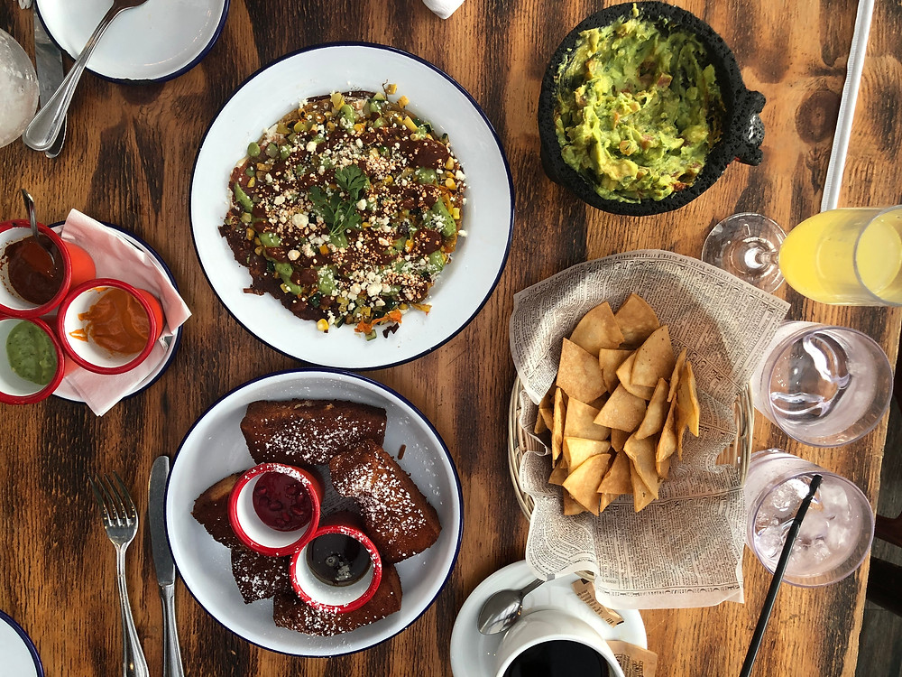 Cantina Rooftop: Brunch with Sam, New York City Brunch Menu