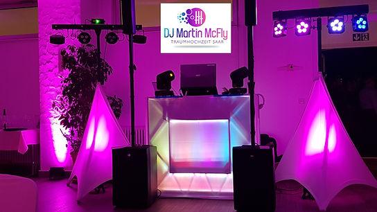 DJ HOCHZEIT SAARLAND DJ Martin McFly Traumhochzeit Saar