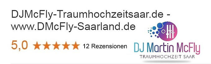 DJMcFly Hochzeit Saarland - DJ SAARLAND