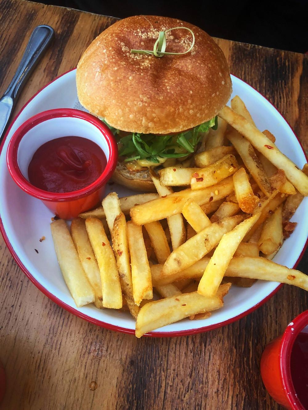 Pat LaFrieda Brunch Burger: Brunch with Sam