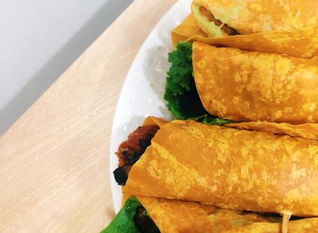 Eggplant BLT Wraps (Vegan Recipe)