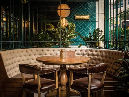 PORCELANOSA Grupo Projects: inspiración española en el restaurante The Optimist, Hong Kong (China)