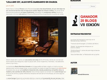 Lola&Co, C/Gravina. La Madridmorena