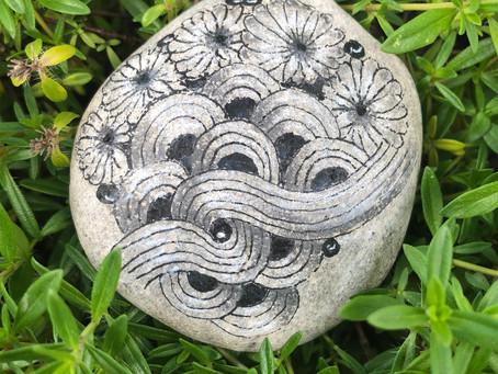 Zen-Stone, auch Steine lassen sich betanglen.