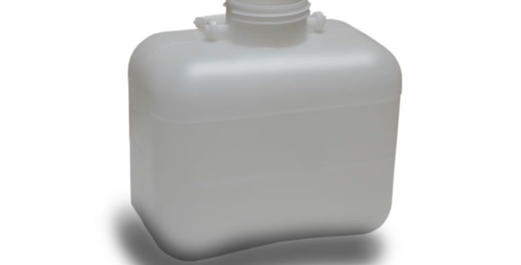Simple 10 litre liquids bottle
