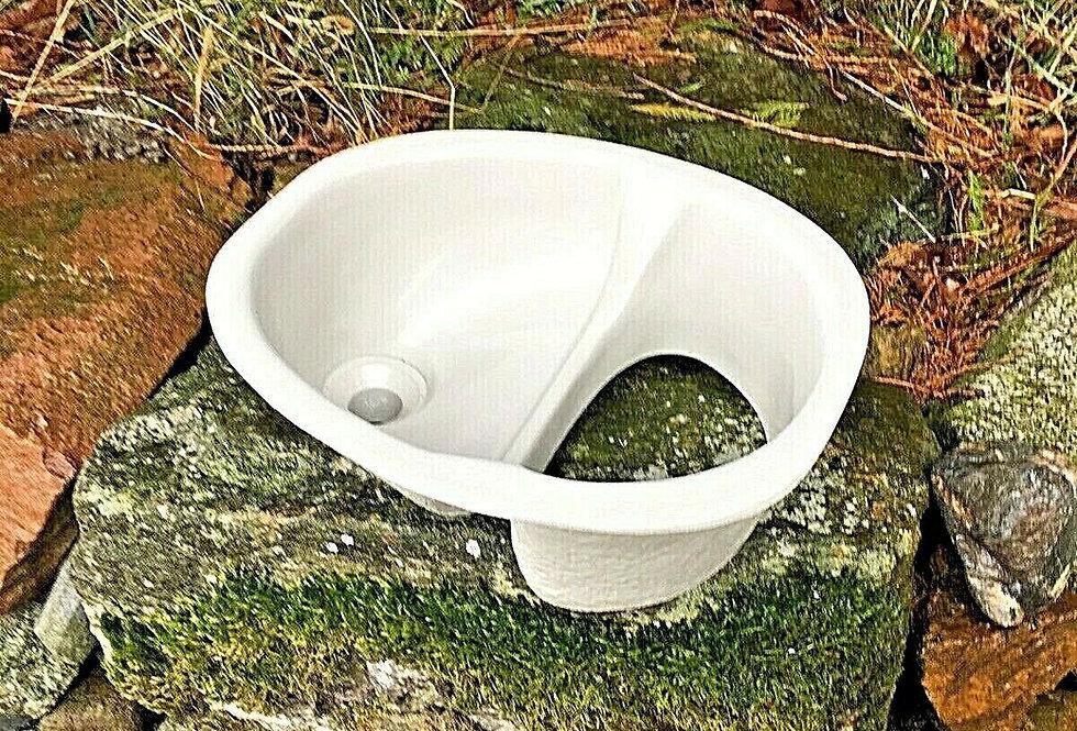 Wee Compost Toilet Separator Urine Diverter