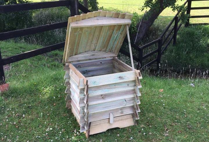 Wee Hooses Bee Hive 330L Compost Bin Kit