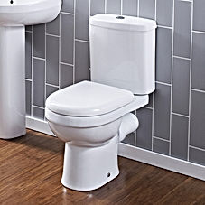 Regular flush toilet