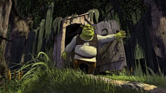 Shrek compost toilet