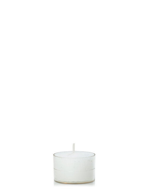 9HR ACRYLIC TEALIGHT I VARIOUS COLOURS (PACK OF 50)