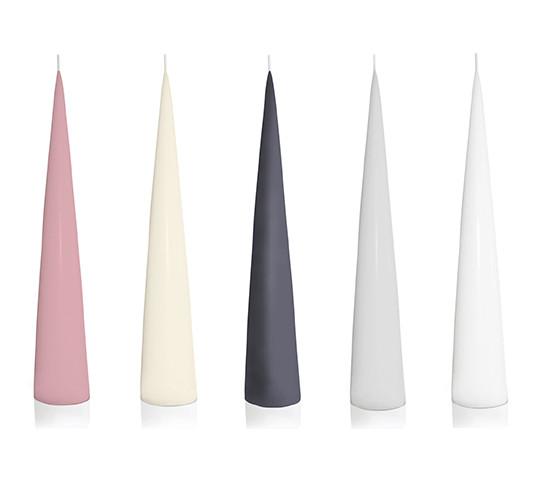 Cone Pillar Candles