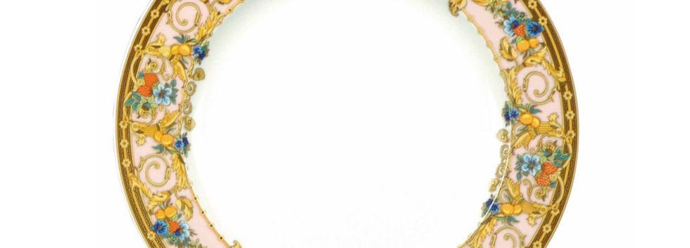 LE JARDIN DE VERSACE I ENTREE/ DESSERT PLATE