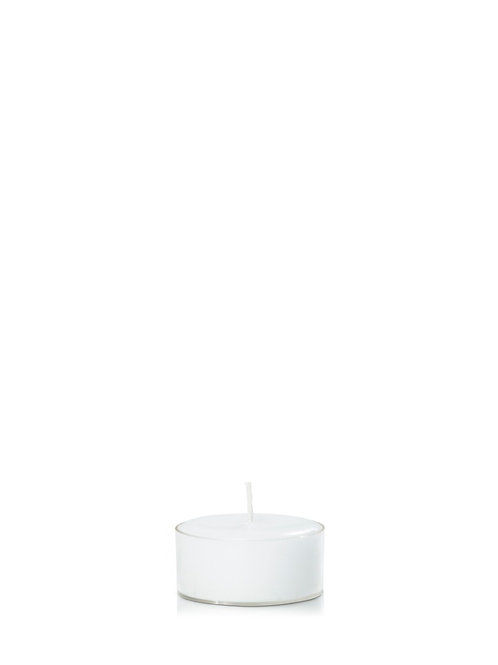 4HR ACRYLIC TEALIGHT I VARIOUS COLOURS (PACK OF 24)