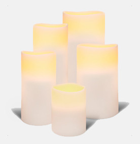 LED Pillar I White