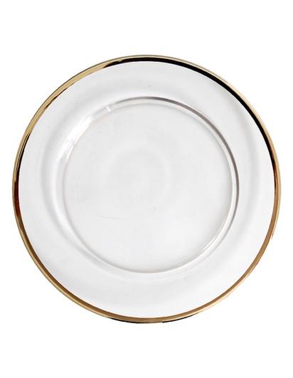 Crown Glass I Gold - Dinner
