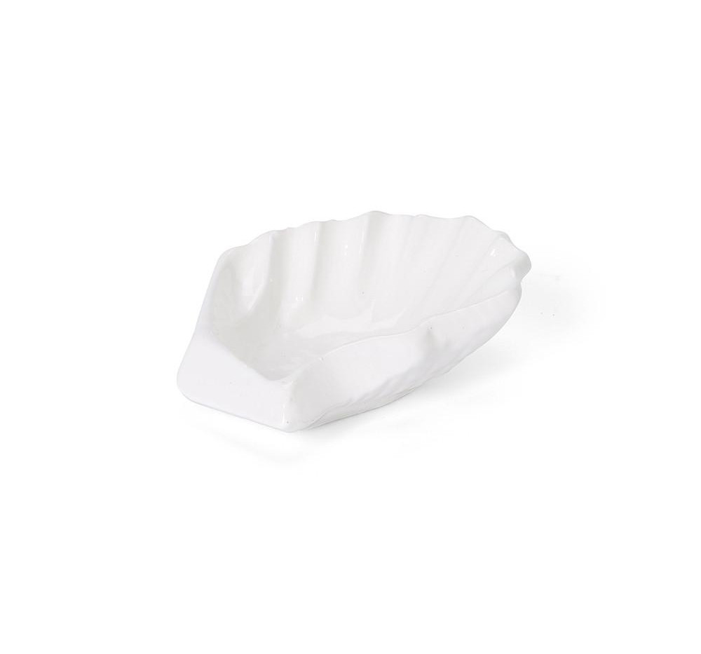 Oyster Salt & Pepper Vessel I White