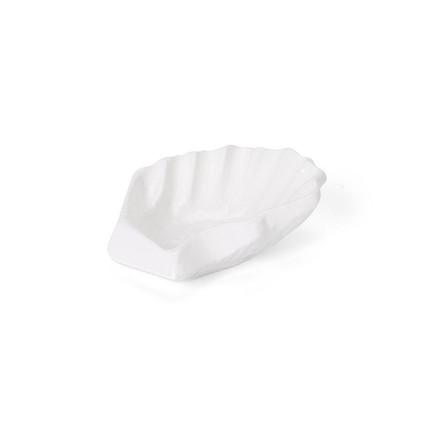 Oyster Salt & Pepper Vessel I White