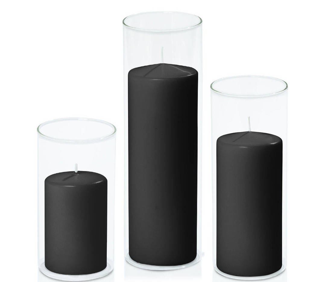 Event Centrepiece Trio I Black