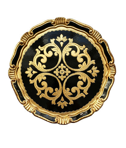 Florence Black & Gold