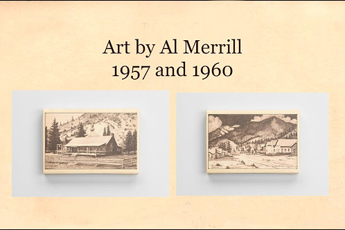 Pair of Red River Views by Al Merrill
